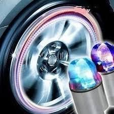 New Tire Valve <b>Lamp</b> Flashing <b>LED Light Zinc Alloy</b> Tyre Wheel ...
