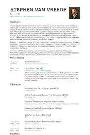 architect resume samples resume example. network architect sample ...