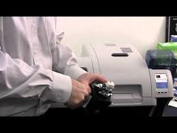 Zebra <b>ZXP</b> Series 8 Card Printer Cleaning - YouTube