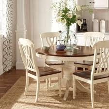 dining room khaki tone: tribecca home mackenzie country style two tone side chairs set of