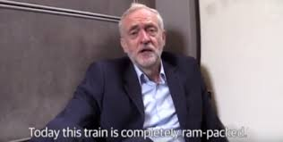Image result for jeremy corbyn railways