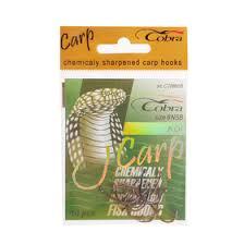 <b>Крючки Cobra Carp Koi</b> 708 NSB №6, набор 10 шт. (3287102 ...