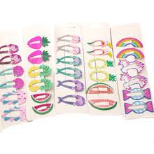 <b>NEW</b> Kids Hair Accessories <b>Headwear</b> 2-<b>6Pcs</b>/<b>Set</b> Flamingo ...