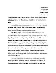 lord of the flies simon essay   academic essayessay questions for lord of the flies