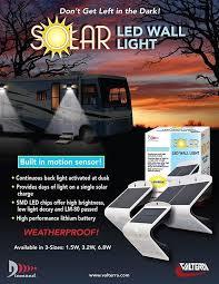 <b>Solar LED Wall Lights</b> - Valterra.com