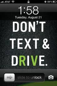 Distracted Driving on Pinterest | Texting, Texts and Cracked Screen via Relatably.com