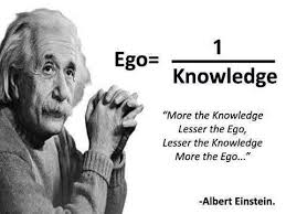 Albert Einstein – Ego versus Knowledge | Fabulous Quotes