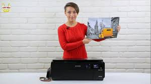 Обзор <b>принтера Epson SureColor SC</b>-<b>P600</b> - YouTube