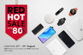 Huawei Red <b>Hot Sale</b> – Up to <b>80</b>% off now