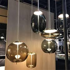 <b>Nordic Glass Pendant Lights</b> Rope Suspension Lamps Designer ...