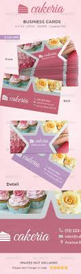cake cupcake business card by ingridk graphicriver cake cupcake business card industry specific business cards