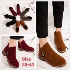 Size 35-42 Autumn Spring Plus Size Women Ankle Winter ... - Vova