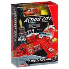 Купить <b>Realtoy Пожарная станция</b> 28520 красный/серый в ...
