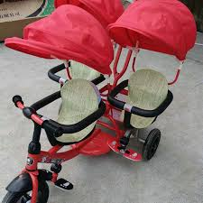 Online Shop <b>Multifunctional</b> twins pedal tandem trike with steel ...