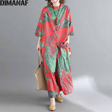 <b>DIMANAF Plus Size Women</b> Sets Autumn Female Lady Tops Shirt ...