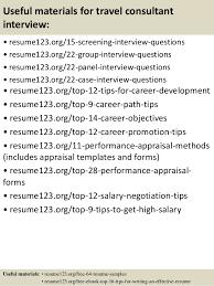 15 useful materials for travel consultant junior travel consultant resume
