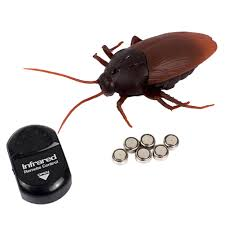 Infrared <b>Remote Control</b> Cockroaches <b>Electric</b> Toys Electronic Ant ...