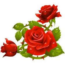 розы (con imágenes) | Clipart de flor, Flores pintadas, Arte con flores