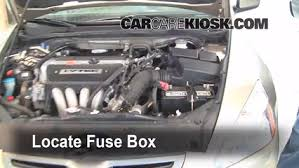 blown fuse check honda accord honda accord ex  blown fuse check 2003 2007 honda accord 2004 honda accord ex 2 4l 4 cyl sedan 4 door