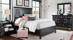 belmar black 5 pc king bedroom bedroom furniture photo