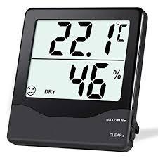 <b>Oria Digital Hygrometer Thermometer</b>, Indoor <b>Humidity</b>: Amazon.co ...