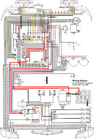 thesamba com type 3 wiring diagrams 1966 usa 1966 from motor s wiring