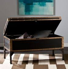 trunk coffee table vintage industrial storage living room furniture rustic chest chest coffee table multifunction furniture