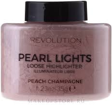 Makeup Revolution Pearl Lights Loose Highlighter - <b>Рассыпчатый</b> ...