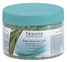 <b>Naomi Соль Мертвого</b> моря с экстрактом эвкалипта, 350 мл ...