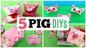 5 Paper Pig Crafts for Kids - Seriously cute DIY Pigs made from ...