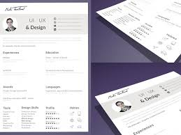 resume cv template sketch  bie   download   resource for    resume and cv template