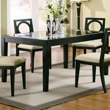 Dining Room Sets Glass Table Apartment Dining Room Rectangle Glass Table Contemporary Luxurious