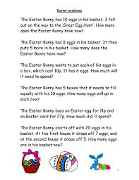 Easter word problems- Maths by I_like_food - Teaching Resources - TES