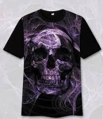 UK Summer Rocker Punk Sullen <b>T</b>-<b>Shirt</b> Men <b>3D</b> Mystery <b>Smoky</b> ...