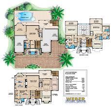Las Olas Home Plan   Weber Design GroupLas Olas Home Plan