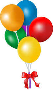 Image result for balloon clipart for kids