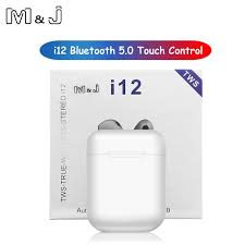 [BIG SALE] Original i12 <b>TWS</b> Wireless Bluetooth 5.0 Earphone ...