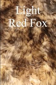 Luxury Sheepskin Rug <b>100</b>% <b>Genuine</b> Natural Hide - Light Red <b>Fox</b> ...