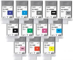 <b>Картридж Canon PFI</b>-<b>106</b> комплект (MBK,BK,M,C,Y,G,B,PC,<b>PM</b>,R ...