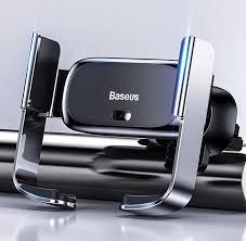 Автомобильный <b>держатель Baseus Mini</b> Electric Car Holder ...