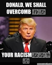 Donald Trump #funny #meme #Racist #Stophating | Political Humor ... via Relatably.com