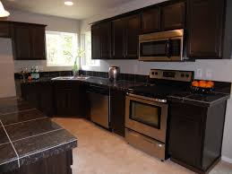kitchen pictures with dark cabinets