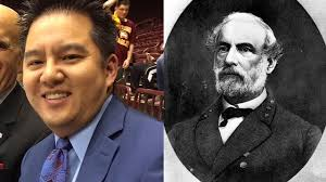 ESPN's Robert Lee pulled from Virginia game because of his name ...