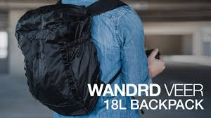 Inflatable Backpack?! - <b>WANDRD VEER 18L</b> Review! - YouTube