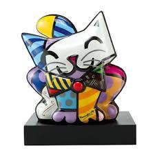 <b>Статуэтка</b> Голубой котенок 27*<b>30 см</b> BRITTO – купить в интернет ...