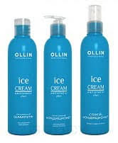 <b>OLLIN Professional</b> Набор Зимний уход Ice Cream (шампунь ...