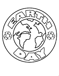 Small Picture Easy Earth Day Coloring Pages coloring page