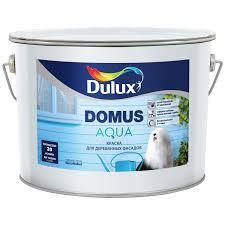 <b>Фасадная краска</b> для дерева <b>Dulux</b> Domus Aqua полуматовая BW ...
