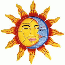 Hand Made Ceramic Tile Hand Painted Mural Sun And Moon by Lomeli Tile Designers, Inc. | CustomMade.com - ceramic-tile-hand-painted-mural-sun-and-moon--NjQwLTI2OTIxLjEyMzM2OQ%3D%3D