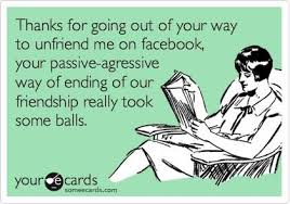 Lol an ecard that's passive aggressive about being passive ... via Relatably.com